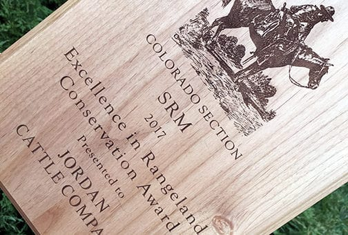 2017 Rangeland Conservation Excellence Award